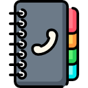 Иконка телефонная книга
