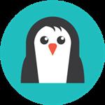 Иконка пингвин