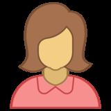 Иконка женщина 2